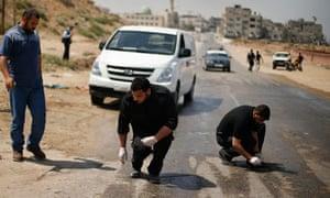 Israeli air strike in Gaza