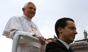 Pope Benedict XVI and Paolo Gabriele