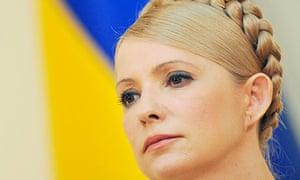 Yulia Tymoshenko, photographed in February 2012