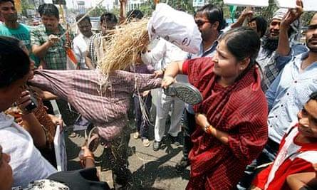 Demonstrations in Madhya Pradesh demanding death penalty over rape of five-year-old girl