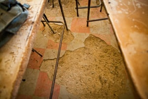 Eastern Cape Schools: Classrooms at Sea View Highschool are run down and dilapidated