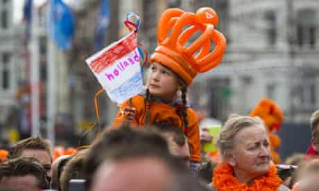 Koninginnedag was bigger than usual this year.