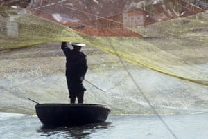 Greater Mekong: Fisherman in the Mekong Delta, Vietnam