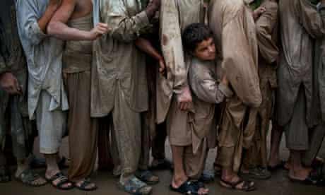 Pakistan flooding relief