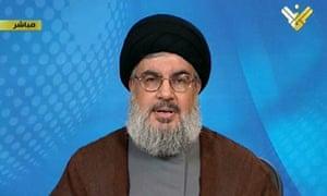 Hezbollah is helping Assad fight Syria uprising, says Hassan Nasrallah