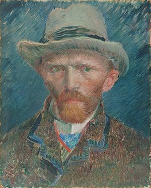 Rijksmuseum: Vincent van Gogh, Self portrait, 1887. Oil on Canvas