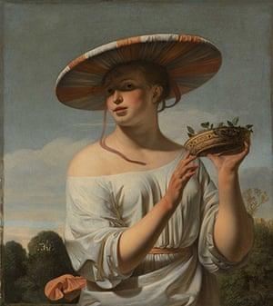 Rijksmuseum: Caesar Boëtius van Everdingen, Girl in a Large Hat