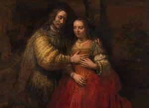 Rijksmuseum: Rembrandt van Rijn, The Jewish Bride, 1665