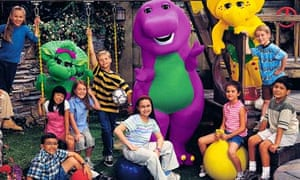 Gomez in Barney and Friends (sat on the space hopper), 2004.