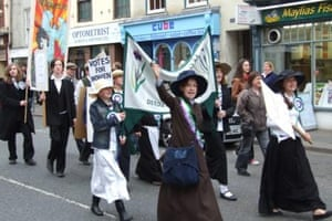 """Emily Davison"" Morpeth suffragette"
