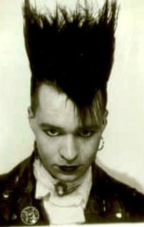 Simon Price in his gothic period.