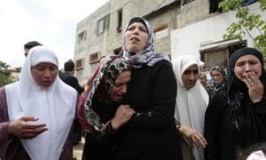 Funeral of Amer Nassar and Naji Balbisi, Anabta village, West Bank