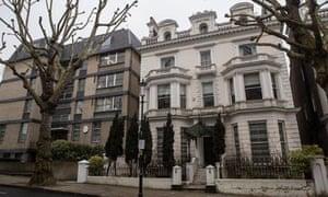 The Greek consul's former London villa in Notting Hill