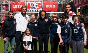US Soccer Federation celebrates 100th anniversary in New York City
