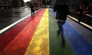 Sydney wants to keep its rainbow road crossing celebrating gay and lesbian heritage