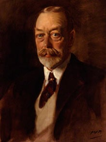 King George V by Sir Oswald Birley