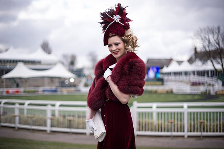 Ladies Day At The Grand National Meeting Aintree