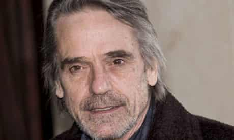 Jeremy Irons: does he want to marry his dog?