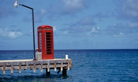 Phone Booth, british virgin islands