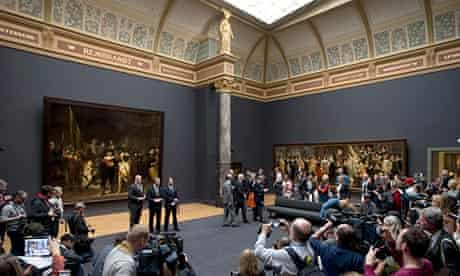 Rijksmuseum director Wim Pijbes shows off the refurbished museum