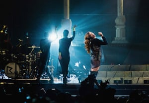 Week in music: Rihanna performs at Key Arena in Seattle on 3 April