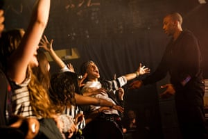Week in music: Bluey Robinson drops into the crowd during his gig at the Scala in London o