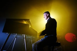 Week in music: Adam Anderson of Hurts on stage at Manchester Academy on 1 April
