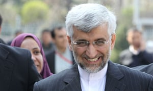 Saeed Jalili after nuclear talks