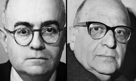 Theodor W Adorno and Max Horkheimer