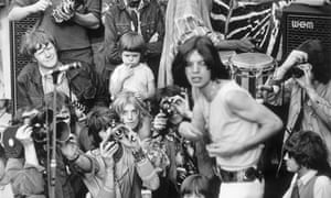 Rolling Stones in Hyde Park.