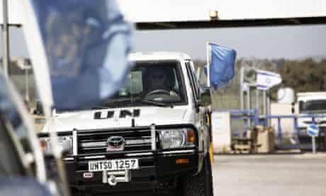 UN in Golan Heights