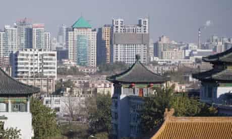 CHINA BEIJING AUTUMN SKYLINE