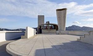 rooftop of Le Corbusier's Cité Radieuse