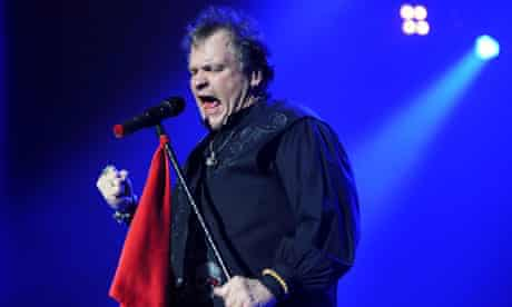 Meat Loaf starts farewell tour in style