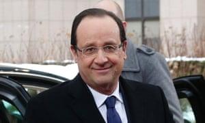 Francois Hollande, the French president.