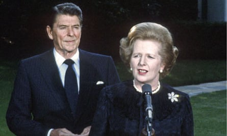 Margaret Thatcher And Ronald Reagan Two Strong Willed Leaders Allied Margaret Thatcher The Guardian