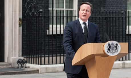 David Cameron makes statement on the death of Margaret Thatcher