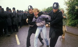 Miners Strike Orgreave Near Rotherham Yorkshire