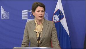 Alenka Bratusek, Prime Minister of Slovenia,