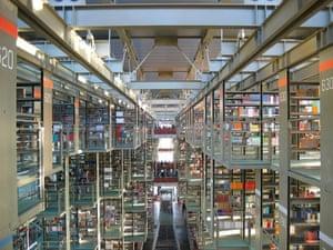 Megabiblioteca library in Mexico City
