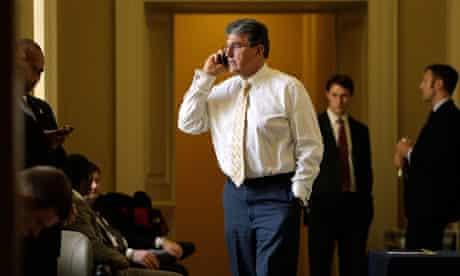 Senator Joe Manchin in Washington, DC