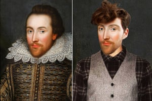 Pin-Ups From The Past: Shakespeare