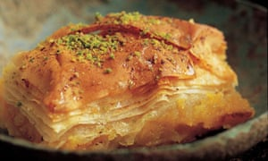 Istanbul orange and vanilla baklava: Silvena Rowe