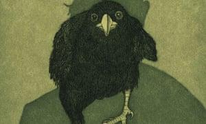 Raven Girl - the raven
