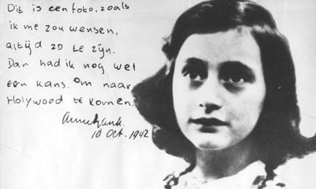 Anne Frank's diary isn't pornographic – it just reveals an