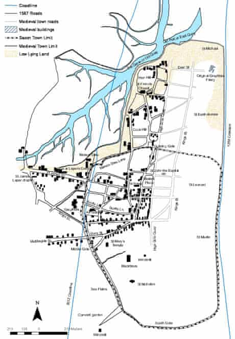 Dunwich map