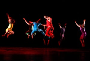 24 hours in picture: Members of the Botega Dance Company at a festival in Jordan
