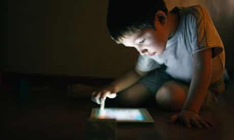 Boy with a tablet: advertising innovation technology