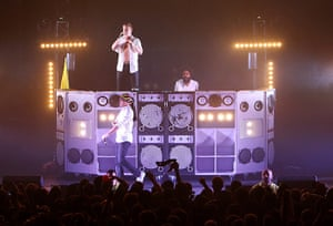 Week in music: Diplo, Walshy Fire and Jillionaire of Major Lazer at The Roundhouse in Lond