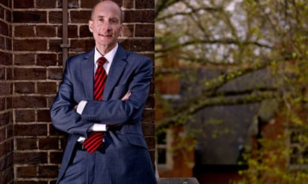Andrew Adonis in his office at the House of Lords